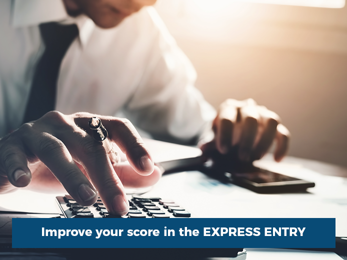Improve your Score in the Express Entry