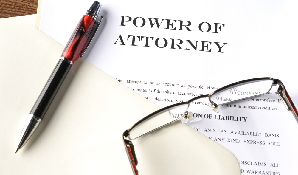 A Power Of Attorney